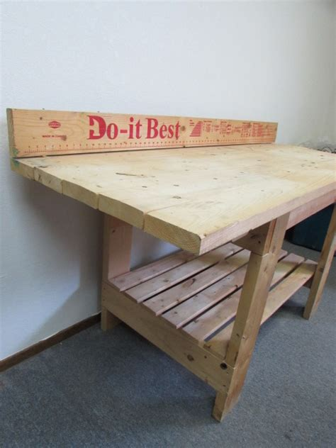 boys work bench lot detail big boy s work bench with built in extras