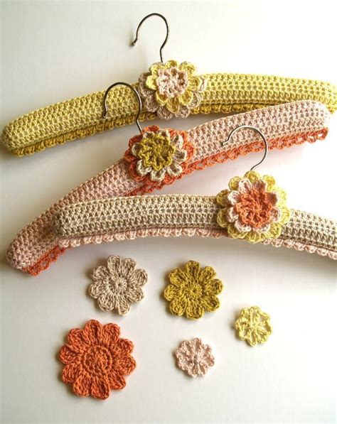 pattern for crocheted clothes hangers crochet covered hangers by linda permann crocheting pattern