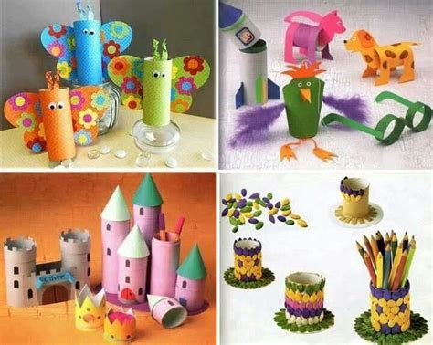 paper towel toilet craft preschool toilet paper