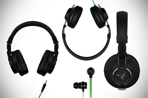 Headphone Headset Razer Adaro Dj razer adaro series headphones mikeshouts