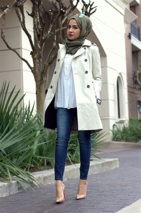 Coat Muslimah trench coat looks by sincerely maryam http www