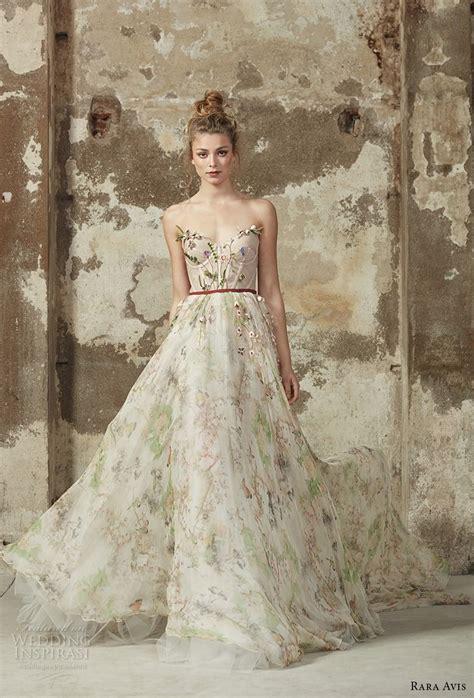 Dress Rara rara avis 2017 wedding dresses floral paradise bridal