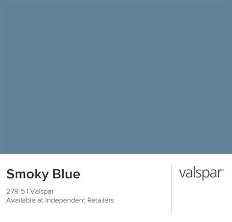 wintergreen color valspar paint color chip smoky blue our home colors
