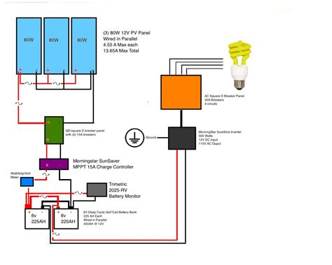 grid solar system wiring diagram 28 images dc