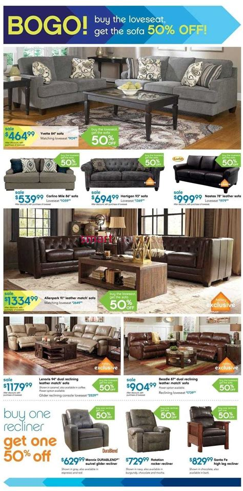 furniture home store on flyer october 2 to 4