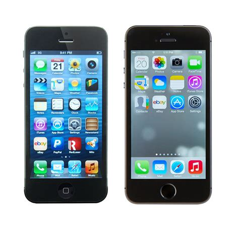 Iphone 5 5s by Iphone 5 Vs Iphone 5s Ebay