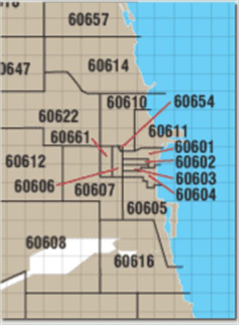 chicago map with zip codes chicago zip code map picture to pin on pinsdaddy