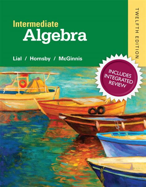 thinking mathematically plus new mylab math with pearson etext access card package 6th edition lial hornsby mcginnis intermediate algebra with