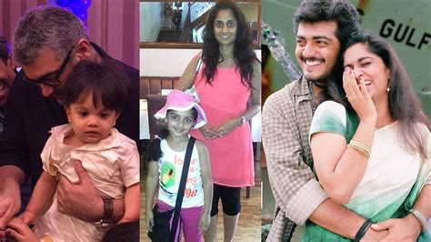 actor ajith latest photos ajith shalini daughter anoushka latest new photo gallery