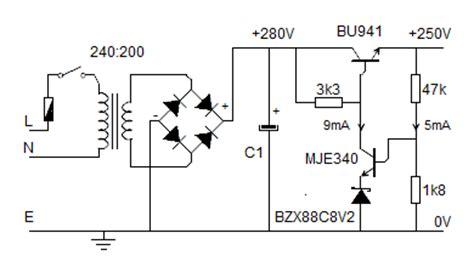 capacitor drop power supply design 12v power regulator 12v free engine image for user manual