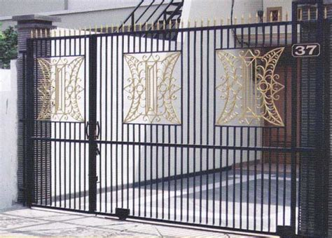Tralis Jendela Motif pintu besi pagar rumah kanopi teralis jendela railing contoh gambar rumah
