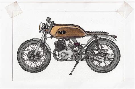 Motorrad Bilder Gemalt by Ersatzhandlungen Ratracer De