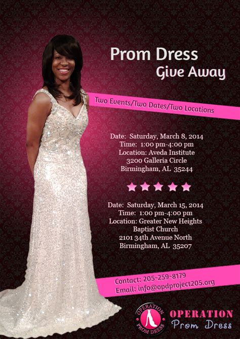 Tv Giveaway Flyer - places to rent prom dresses in birmingham al discount evening dresses