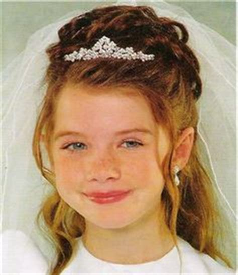 95 best images about flower hairstyles on communion updos hair style communion hairstyles