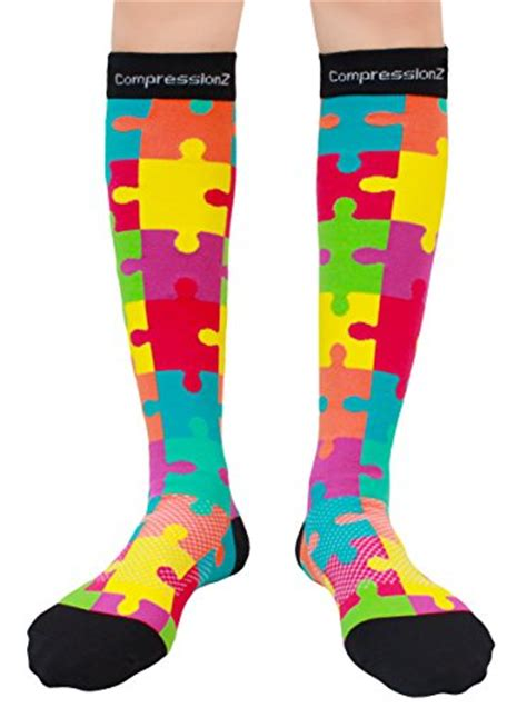 colorful compression socks for nurses compression socks patterns 20 30mmhg