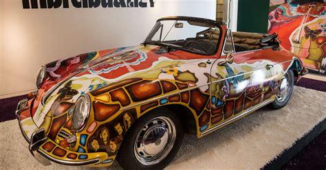 sold janis joplins psychedelic  porsche fetches  million