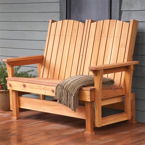 Patio Chair Designs by Easy Breezy Glider Woodworking Plan From Wood Magazine