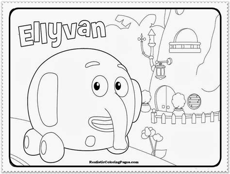 Jungle Junction Coloring Pages free coloring pages of jungle junction