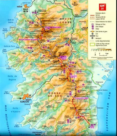 corsica map map of corsica maps