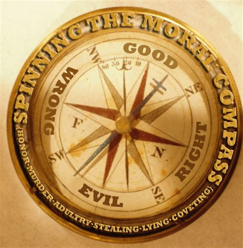 the compass of a conscience books no moral compass s visits with god