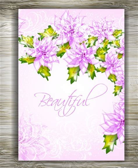 beautiful invitation card templates free beautiful floral wedding invitation card design