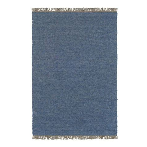 linon home decor verginia berber denim blue 7 ft 10 in x