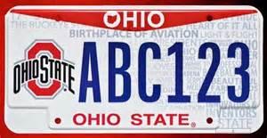 ohio state releases three new ohio vanity license plates