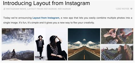 layout from instagram collage instagram outreach marketing highlight introducing the