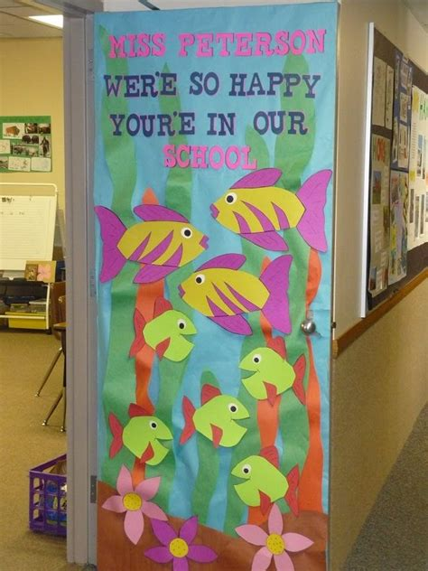 theme based class decoration appreciation door ideas a collection of and