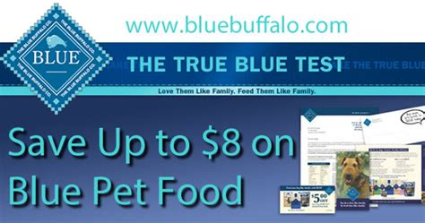 printable blue buffalo dog food coupons coupon save up to 8 on blue buffalo pet food fru gals