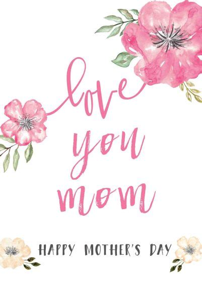 Mothers Day Card Messages
