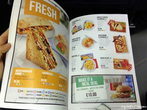 on board ryanair on board menu 2016 food drinks della
