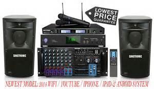 roland karaoke machine singtronic complete professional 3000w karaoke system