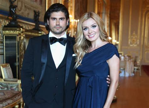 katherine jenkins and husband andrew levitas enjoy first katherine jenkins on her first mother s day with child