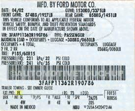 ford color codes ford paint code locations touch up paint automotivetouchup