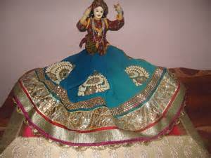 n wrap saree packing in rajasthani theme