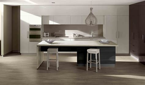 Kitchen Bench And Cupboards Island Benchtop And Back Benchtop Laminex 180fx Silver