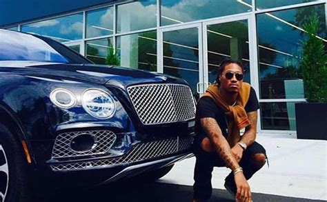 future rapper cars future drops 1m on new bently truck 1st rapper with