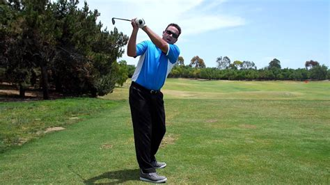 golf swing for lefties golf swing left arm rotation and lift youtube