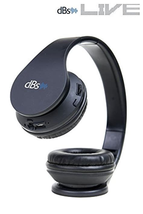 Headset Bluetooth X Live dbs live 2 wireless bluetooth headphones with mic v4 1 on ear foldable headset for sports