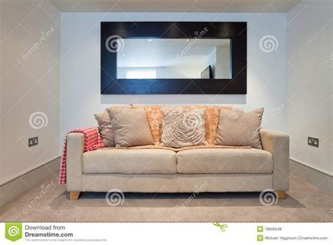 sofa and mirror royalty free stock photos image 18906548