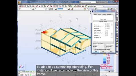 video tutorial robot structural analysis autodesk robot tutorial part ii foundations and seismic