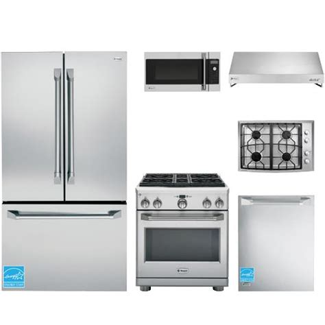 ge stainless steel kitchen appliance package ge monogram stainless steel complete kitchen package