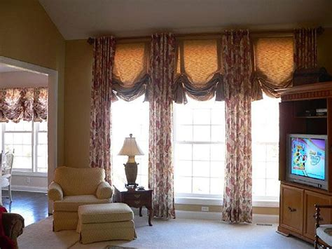 curtain rods for big windows 101 best custom window treatments images on