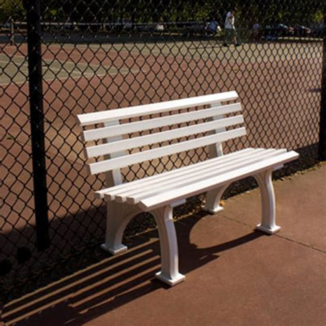 tennis bench 4 courtside tennis bench
