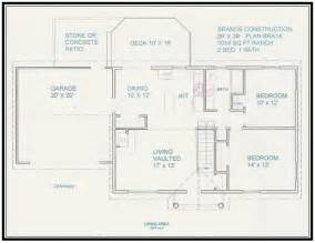 Construction Plans Online Free Home Plan 1014 Sq Ft
