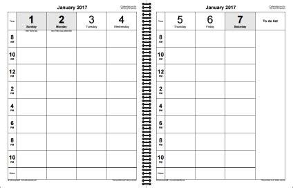 Buy Calendars Ireland Weekly Calendar 2017 For Excel 12 Free Printable Templates
