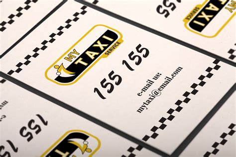 free taxi cab business card templates free vertical taxi business card template by borcemarkoski