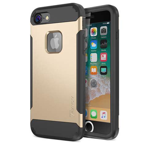 trianium duranium series for iphone 8 w holster gold