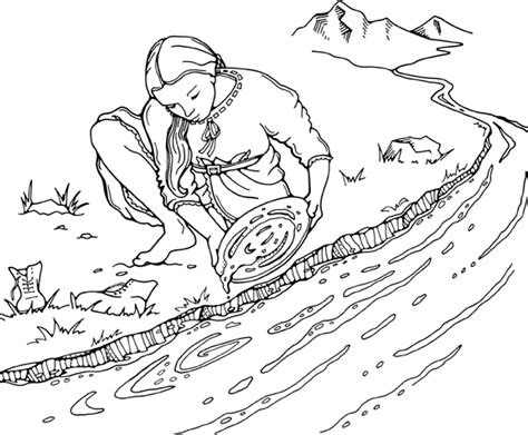 free coloring pages of gold rush ins